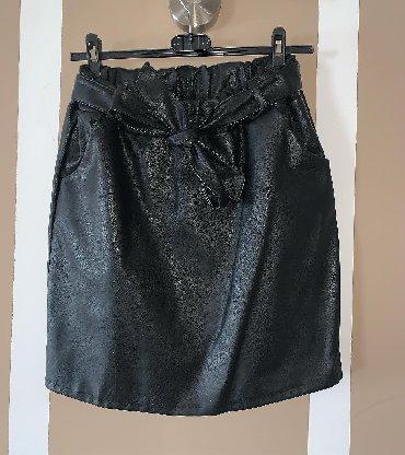 Kožna suknja 36-38