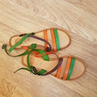 сандали 38 размер в Кыргызстан: Новые сандали. 38 размер. Made in India