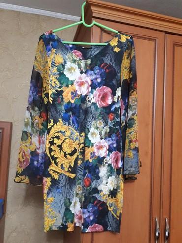 турецкое летнее платье в Кыргызстан: Цветное турецкое платья. Рукава Итальянский шёлк. Летнее очень