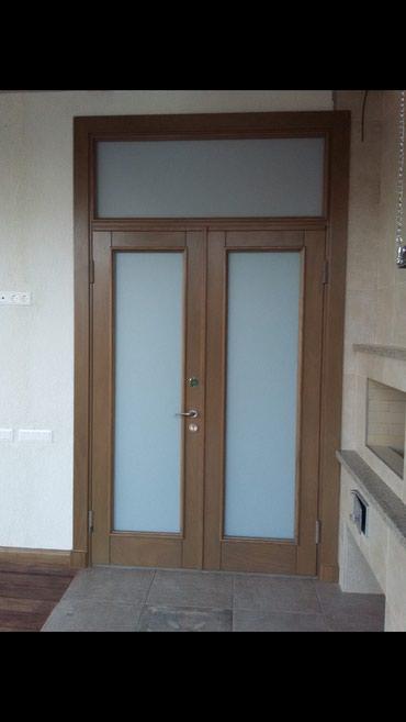 Изготовление и обшивка входных дверей в Бишкек