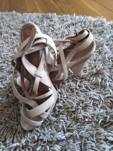 Bata sandale, par puta obuvene bez ostecenja, broj 37 - Novi Sad