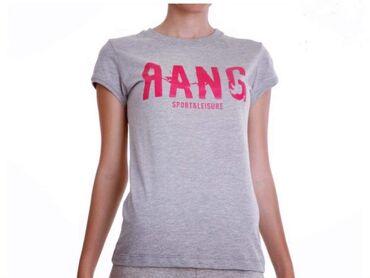 Pink kosuljoca - Srbija: Rang majica potpuno nova  Majica se siva sa pink natpisom Rang  Sadrzi