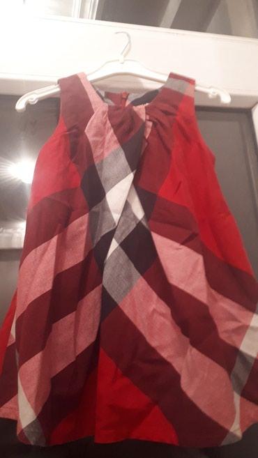 Xırdalan şəhərində Satilir original burberry markasinin usaq paltari.Paltar 1-2 defe