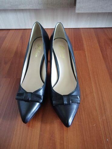 Туфли Новые, Натуральная кожа, размер 39-38. Не ношенные