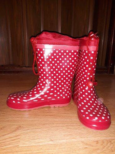 Gumene cizme br 29 (19cm),cizme za sneg br 31 (19cm) sa krznom, - Beograd