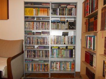 Nameštaj - Lazarevac: Velika kolekcija originalnih DVD i VHS kaseta, raznih žanrova