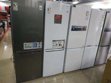 Новый Двухкамерный Белый холодильник LG
