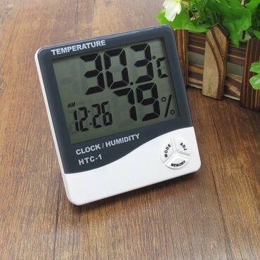 Домашняя метеостанция, термометр и гигрометр с выносным датчиком