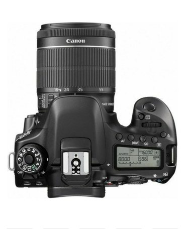 Canon DSLR 80D 18 - 135 USM 100% оригинал ( no refurbished) , в Бишкек
