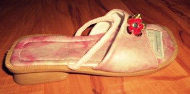 Dečija odeća i obuća - Loznica: Dečija ženska papuča/sandala može da se nosi i kao papuča i kao