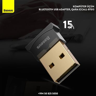 Baseus BLUETOOTH USB komüterlə siçan klaviatura qulaqcıq jostik səs