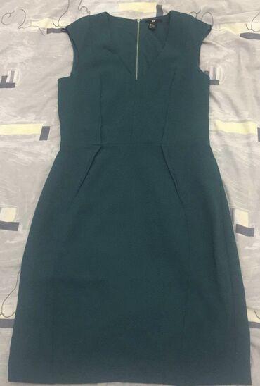 H&M prelepa zelena haljina nenosena
