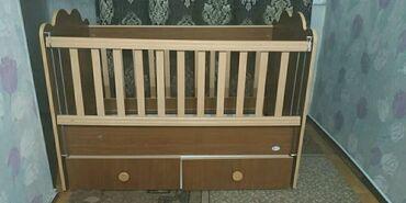 Продаю детскую кроватку с эффектом качения. Отличное состояние
