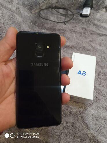 samsung a8 2018 qiymeti - Azərbaycan: Samsung A8 2018 ela veziyeydedir 32gb 4ram android 9. Tel şirvandadır