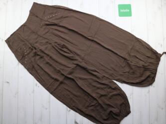 Летние женские штаны-шаровары внизу на резинке Длина: 105 см Длина шаг