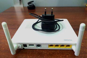 Fiber optik xəttə qoşulan GPON modem Huawei, son modellərdəndir