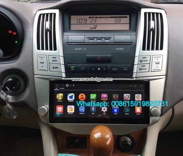 LEXUS RX300 330 350 400h Car radio android GPS camera in Kathmandu - photo 5
