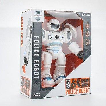 robot konstruktorları - Azərbaycan: Polis robot