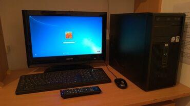 hp 1010 в Кыргызстан: Продаю, компьютер в комплекте монитор TOSHIBA +тв, HDMI, VGA, с