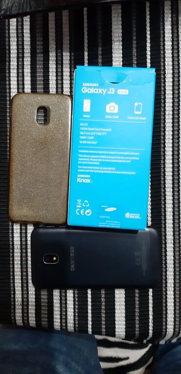 Elektronika - Zrenjanin: Upotrebljen Samsung Galaxy J3 2017 16 GB crno