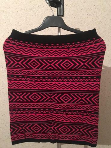 Новая Теплая трикатажная юбка, размер М