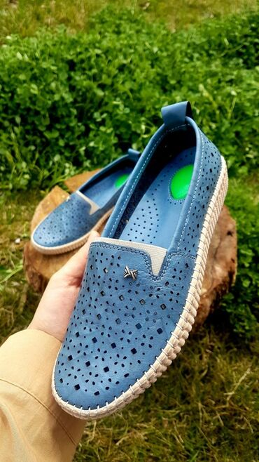 Мокасины в Кыргызстан: В НАЛИЧИИ красного и синего цвета Турецкая обувь ортопедические на