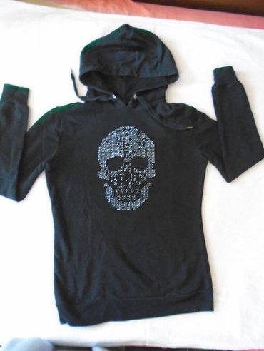 Crni, New Yorker skull duks,  L veličine. Nošen ali očuvan, urban i - Beograd