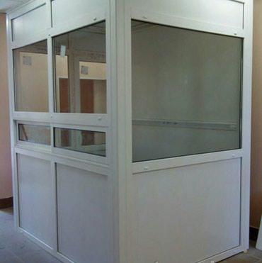 Bakı şəhərində Kabinalar sifariwnen(plastik)1m²-55azn , muxtelif