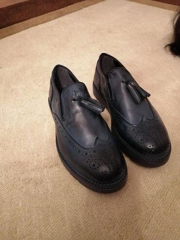 Продаётся кожаная обувь! лоферы мужские размер 40 прислали с Италии в