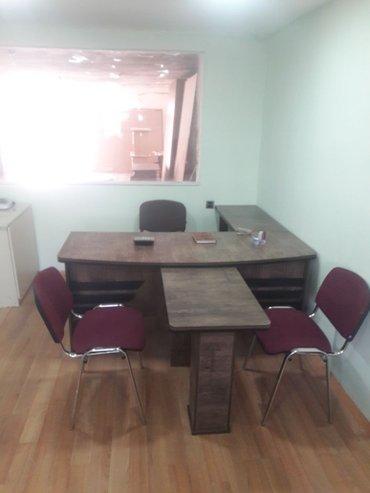Xırdalan şəhərində Ofis stolu kreslosuz 450manatdi her rengde sifariw qebul olunur