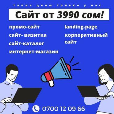 Другие услуги - Кыргызстан: Веб-сайты, Лендинг страницы   Разработка, Доработка, Поддержка