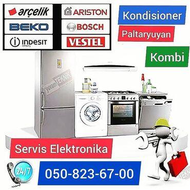 Məişət xidmətləri - Azərbaycan: - Servis elektronika sizin xidmetinizde- Kombi paltaryuyan