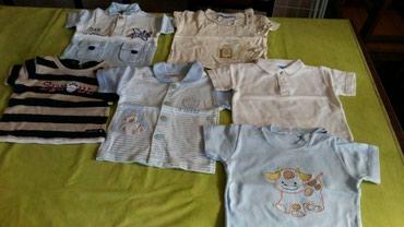 Majice za bebe vel.od 6-12meseci.Ocuvane ima ih 6kom za 800din - Petrovac na Mlavi