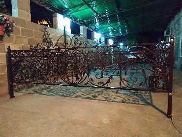Изготовление кованных ритуальных оградок