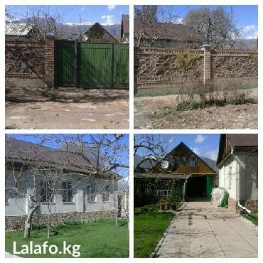 Продаю: большой, кирпичный дом 130м² общая, 84м² жилая), на Иссык-Куле, в с. Кара-Ой (Долинка), в Бишкеке
