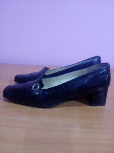 Prelepe zenske cipele br.40. Duzina unutrasnjeg gazista 26cm. Cipele - Novi Pazar