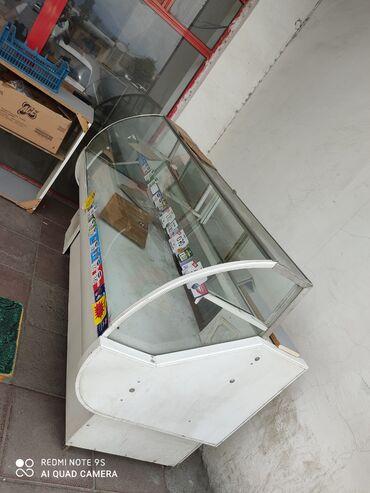 Электроника в Балакен: Б/у Холодильник-витрина Белый холодильник Samsung