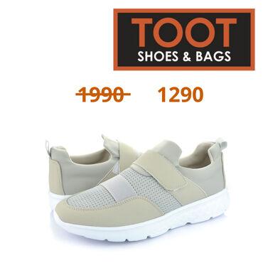 43-размер в Кыргызстан: Toot shoes&bags Кроссовки Артикул: 084-L9048 Детали Цвет Серый  С