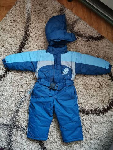 Dečija odeća i obuća - Smederevska Palanka: Skafander i rukavice. Kao nov. Kapuljača se skida Vel 74/80