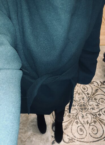 sambovka green hill в Кыргызстан: Продаю женское кашемировое б/у пальто, размер: 48, производство
