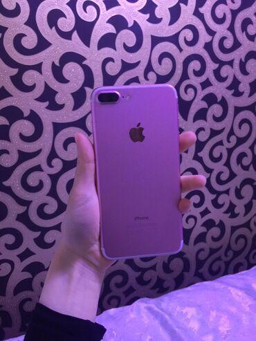 Apple Iphone - Бишкек: Б/У iPhone 7 Plus 256 ГБ Розовое золото (Rose Gold)