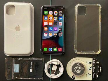 Электроника - Таджикистан: IPhone 11 | 128 ГБ | Серый (Space Gray) Б/У | Гарантия, Кредит, Битый