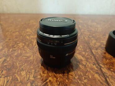 obyektiv - Azərbaycan: Canon obyektiv 50mm 1.4