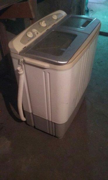 Стиральная машинка полуавтомат с сушильной. Состояние хорошее, можно з в Лебединовка