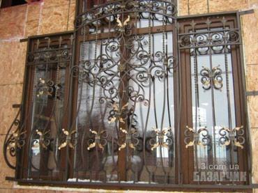 Кованные решетки на окна. в Бишкек
