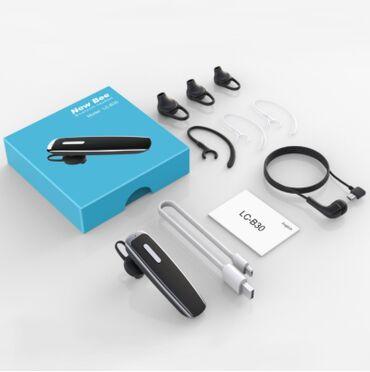 Продаю наушники для переговоровNew Bee LC-B301)Bluetooth v5.02)22 часа