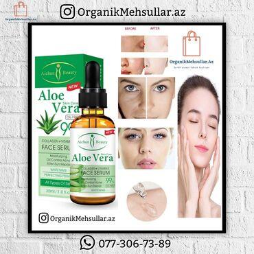 Aloe Vera Collagen+Vitamun E Face Serum ♦️Qiymət: 11.90 azn 🔶Məhsul ha