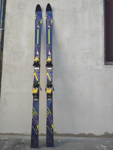 Decije skije - Srbija: Skije Rossignol sa vezovima, 160 cm duzine