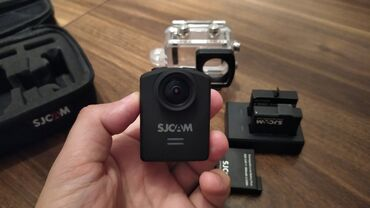 Original 4K SJ cam m20Sj cam m20 + 3 daş + adapter + akvabox + çanta