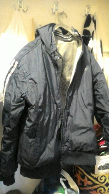 Мужская куртка толстовка 2х сторонний 44-46 размер 600 сом в Бишкек
